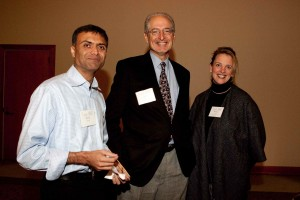 Keval Desai, Jerry Engel and Melissa Daniels, December 10, 2009, at Haas School of Business at UC Berkeley