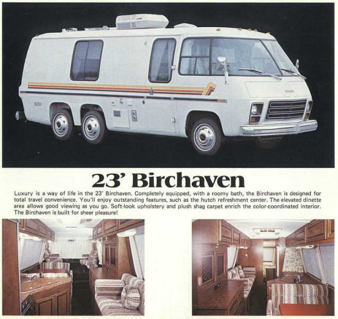 GMC Motorhome from 1970s