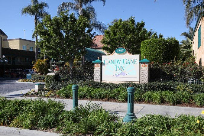 Candy Cane Inn, Anaheim, California USA