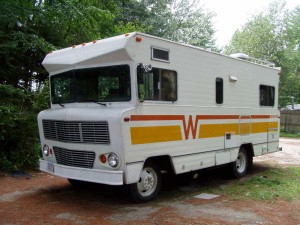 Winnebago Brave motorhome from the 1970s