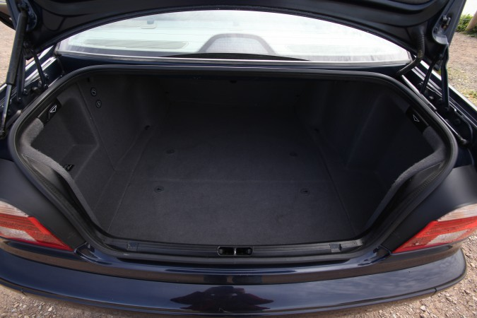 Trunk of Kevin's BMW 525i