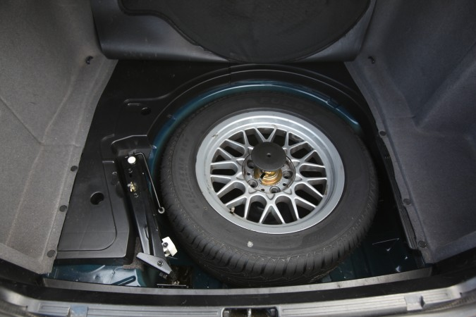 Spare tire for BMW 525i