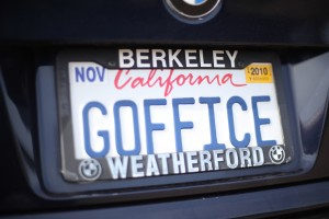 Kevin Warnock's gOffice license plate