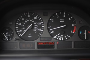 Odometer for Kevin's BMW 525i