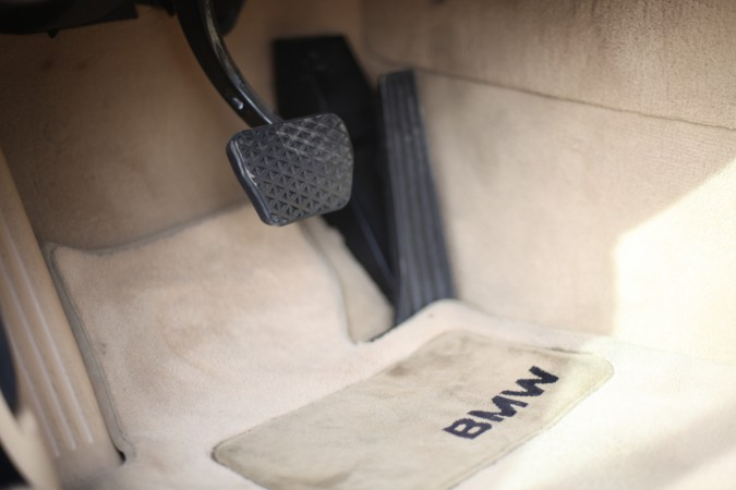 Brake and gas pedals for BMW 525i