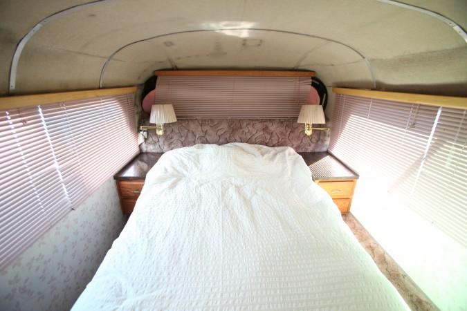 1967 MCI 5A Challenger Bus Conversion, bedroom
