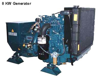 Wrico International 8,000 generator