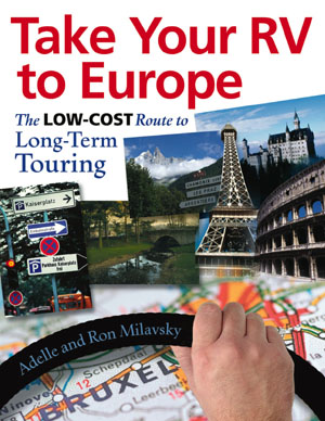 Take Your RV to Europe book cover