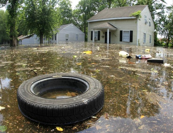 Memphis, Tennessee, USA flooding, May 9, 2011