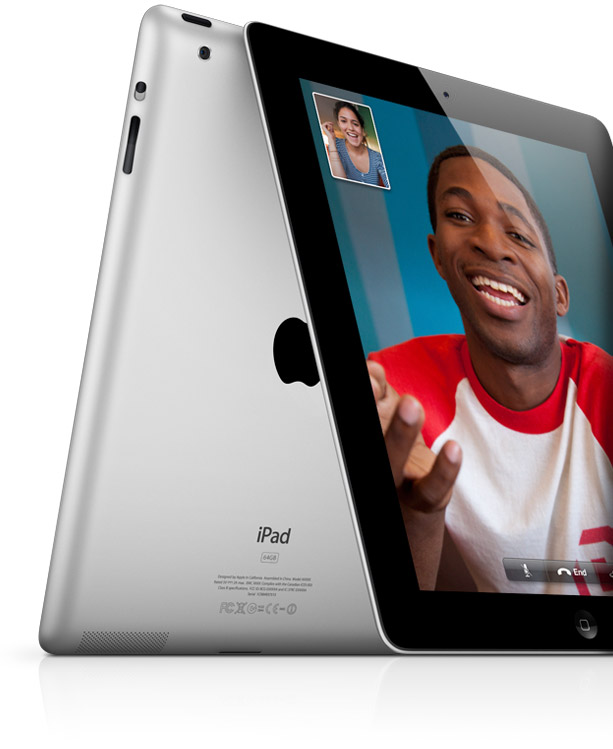Apple iPad Facetime, from Apple.com website, June 14, 2011