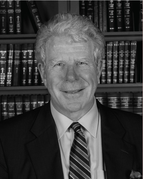 Micheal Traynor, past president of American Law Institute