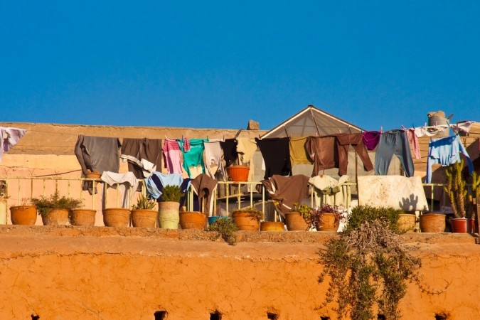 Clothes drying in Sun (photo by Flickr user martinvarsavsky)