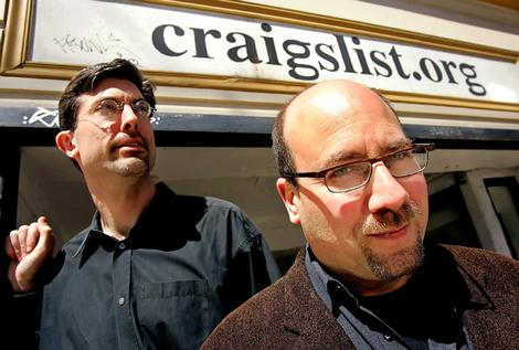 Jim Buckmaster Craig Newmark of Craigslist.org, photo from boredborg.com