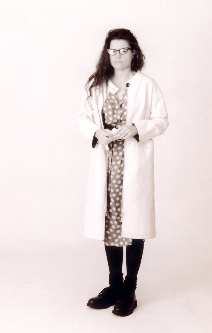 Muire Dougherty photographed in 1989 by Kevin Warnock