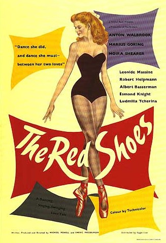 The Red Shoes movie poster, 1948