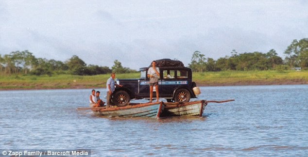 Zapp car crossing the Amazon (photo from dailymail.co.uk)