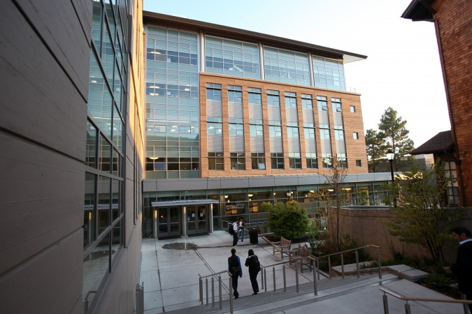 Founder School Demo Day was held at Sutardja Dai Hall at the University of California at Berkeley campus