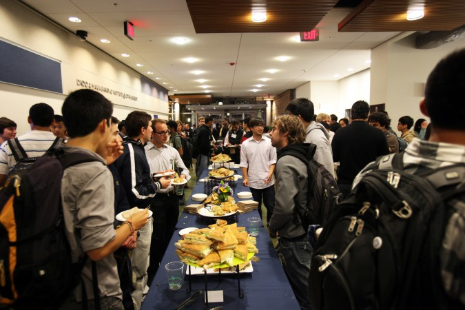 2011 Berkeley Founder School Demo Day networking