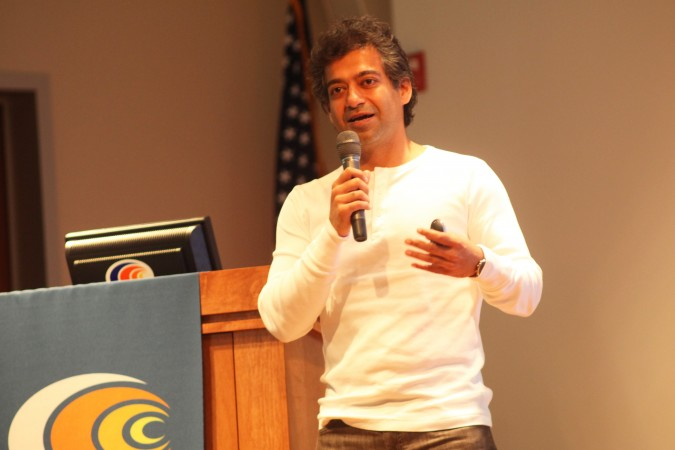 Naval Ravikant, founder of AngelList.com. Photo by Kevin Warnock.