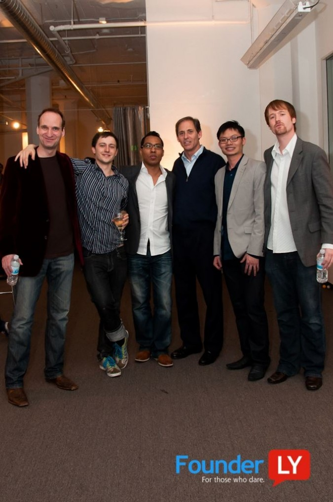 Kevin Warnock, Ilya Zhitomirskiy, Matthew Wise, Grant Ricketts, ___ and Andreas Sæbjørnsen, March 3, 2011