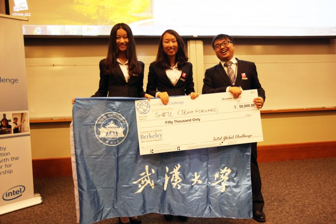 Gaitu.com team, which won the 2011 Intel Global Challenge