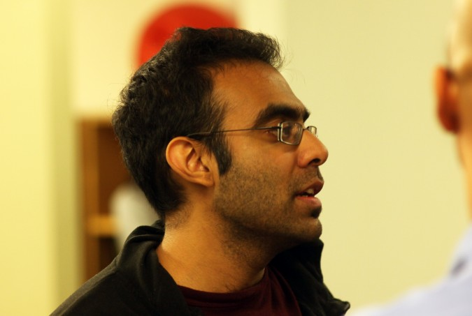 Rajat Suri, founder and CEO of E la Carte, November 16, 2011.