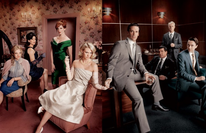 The cast of Mad Men, Season One. Photo from http://www.amoeba.com/blog/2008/10/all-the-news-that-s-fit-to-sing/mad-men-crazy-like-a-fox.html
