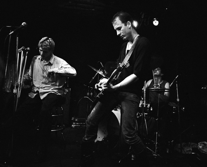 Flipper playing at the 9:30 Club in Washington, DC in 1984. Photo from WikiPediA entry for Flipper.