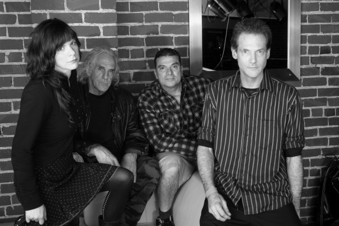 Rachel Thoele, Ted Falconi, Steve DePace and Bruce Loose of Flipper, March 2, 2012, Oakland, California. Photo by Kevin Warnock.