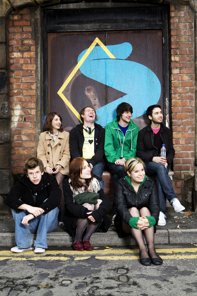 LOS-CAMPESINOS! the band. Photograph from WikiPediA.