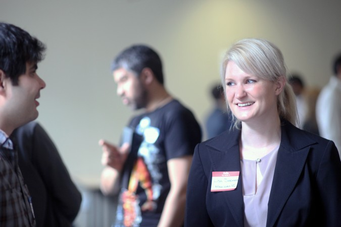 Lisa Seeman at Mexican VC Demo Day, March 16, 2012