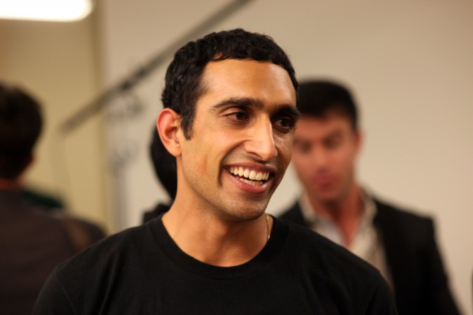 Nikhil Arora, the CEO of Back to the Roots. This was taken by Kevin Warnock on November 16, 2011, not at the Berkeley Startup Competition event.