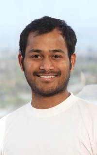 Satish Polisetti is Co-Founder and CEO at Picatcha.com. Photo taken at UC Berkeley Skydeck by Kevin Warnock May 2, 2012.
