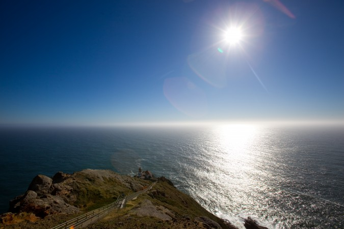 Point Reyes, California lighthouse, June 10, 2012