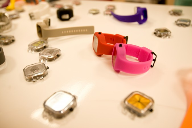 Modify Watches still life at Hanger 16 retail launch event August 9, 2012 at 3128 16th Street San Francisco, California USA