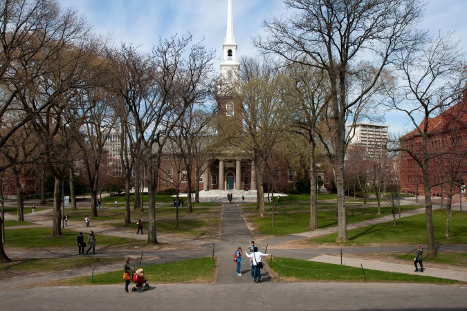 The Memorial Church at Harvard University photographed by Flickr.com user Siim Teller, April 22, 2011