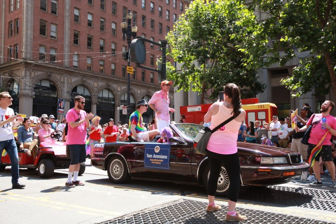 San Francisco Pride Parade and Celebration 2013 - picture 20, June 30, 2013, Tom Ammiano