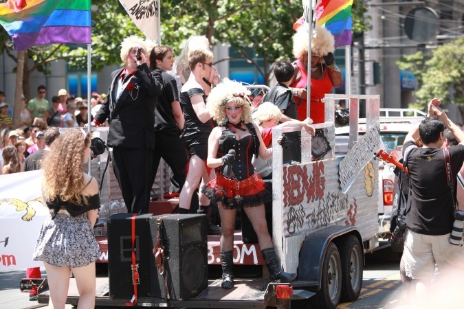 San Francisco Pride Parade and Celebration 2013 - picture 24, June 30, 2013, with Hedwig and the Angry Itch