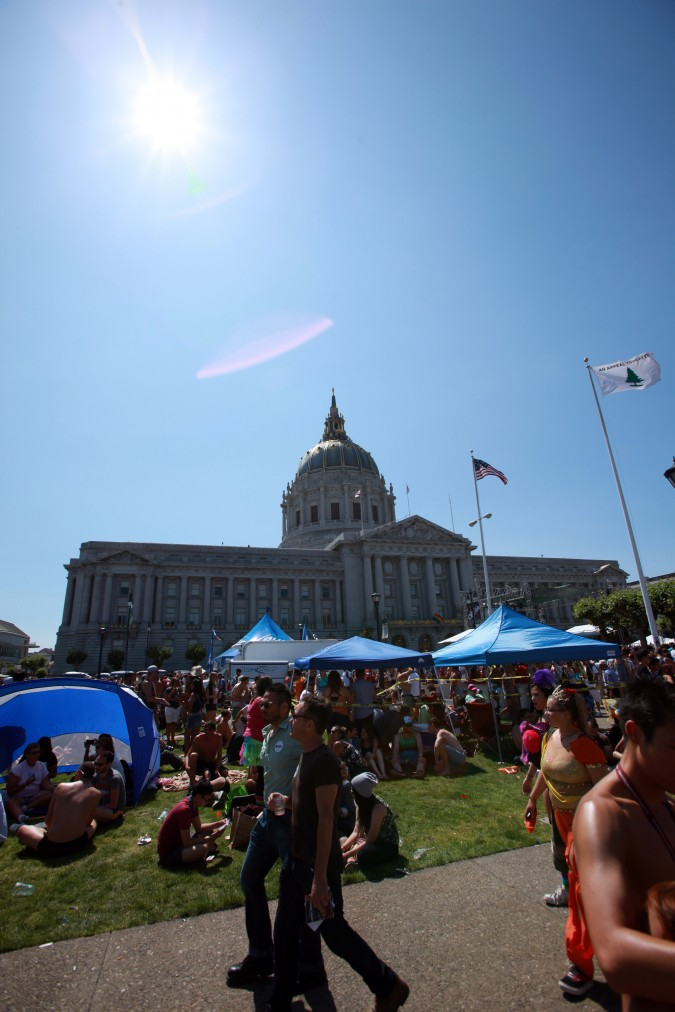 San Francisco Pride Parade and Celebration 2013 - picture 43, June 30, 2013, City Hall