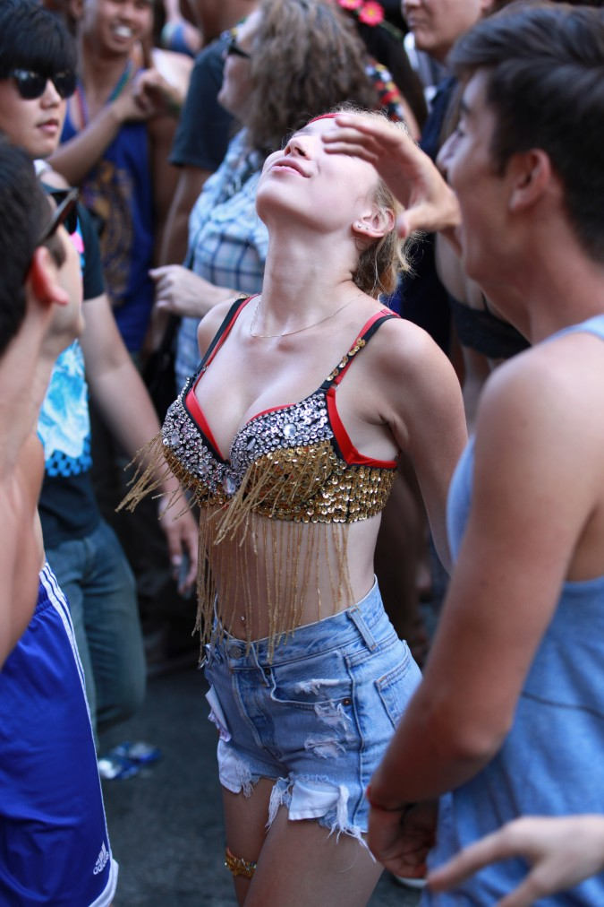 San Francisco Pride Parade and Celebration 2013 - picture 45, June 30, 2013, woman dancing