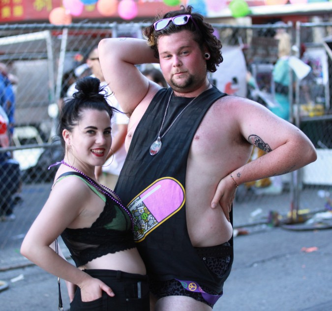 San Francisco Pride Parade and Celebration 2013 - picture 75, June 30, 2013. couple posing for the camera