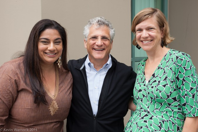 Priya Haji, Will Rosenzweig and Kirsten Saenz Tobey - April 11, 2014 at GSVC Finals in Berkeley, California